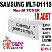 Samsung Mlt D111s Muadil Toner Çipli M2020 M2070 10adet