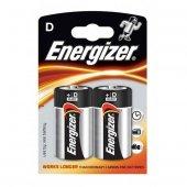 Energizer (D55 7331) Power Alkalin D Büyük Boy Pil 2li Blister