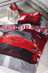 Tek Kişilik Uyku Seti Red Dragon