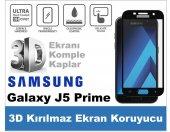 Samsung J5 Prime 3d Komple Kaplayan Kırılmaz Cam Ekran Koruyucu
