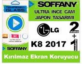 Soffany Lg K8 2017 Kırılmaz Ekran Koruyucu Temperli Cam