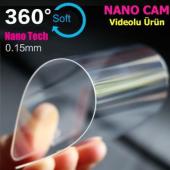 General Mobile Gm5 Plus Silikon Kılıf+nano Glass Ekran Koruyucu