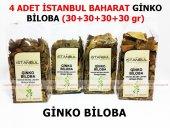 4 Adet Ginko Biloba 4x30gr 1.kalite Taptaze
