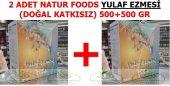 2 Adet Doğal Yulaf Ezmesi Natur Foods 500+500 Gr