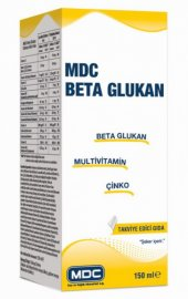 Mdc Beta Glukan Multivitamin Çinko 150 Ml