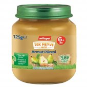 Milupa Organik Tek Meyve Armut Püresi 125 Gr