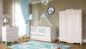 Babi Eylül Maxi Büyüyen Beşikli Bebek Odası Takımı