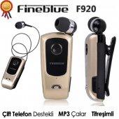 Fineblue F920 Titreşimli Makaralı Kablosuz Bluetooth Kulaklık