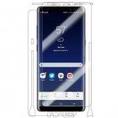 Samsung S8 Ön Arka Full Body Ekran Koruyucu Cam Şeffaf
