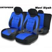 Seat Alhambra Oto Koltuk Kılıfı Set Düğmeli Model 5 Parça Araba A