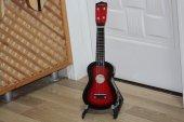 çocuk Gitarı 4 Telli Kırmızı