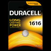 Duracell Düğme Lityum Pil 1616 Tekli