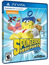 Spongebob Hero Pants Ps Vita Oyun Psvita
