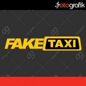 Otografik Fake Taxi Oto Sticker
