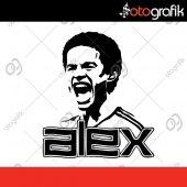 Otografik Alex De Souza Oto Sticker