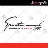 Otografik Opel Astra Sports Mınd Oto Stıcker