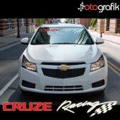 Otografik Chevrolet Cruze Racıng Oto Cam Stıcker 90cm