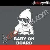 Otografik Baby On Board Asi Bebek Oto Sticker