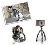 Akrobat Mini Kamera Fotoğraf Makinesi Tripod Telefon Tutucu