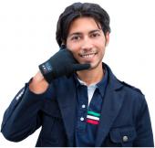 Hi Call Bluetooth Kulaklık Eldiven Siyah Renk Ajan Eldiven