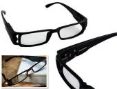 Led Işıklı Kitap Okuma Aydınlatma Gözlüğü Işıklı Gözlük Camsız