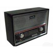 Eskitme Radyo Görünümlü Kumbara