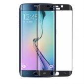 Samsung Galaxy S6 5d 3d Kavisli Kırılmaz Cam Tam Kaplama Ekran Ko