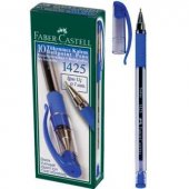 Faber Castell 1425 İğne Uçlu Tük.kalem Mavi 50 Li Kutu