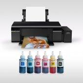 Epson L805 Photoink 6 Renk Bitmeyen Kartuşlu (1 Sa...