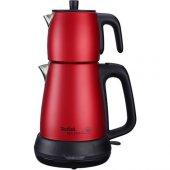 Tefal Tea Expert Çelik Demlik Kırmızı