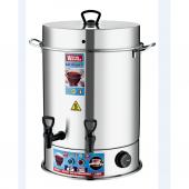 Warm Wasser 200 Bardak Çelik Çay Otomatı & Çay Makinesi Semaver