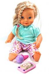 Oyuncak Mila Bebek Telefonlu Mikrofonlu Oyuncak Tükçe Konuşan Beb