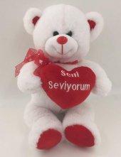 27cm Kalpli Peluş Ayı Sevgiliye En Güzel Hediye Kaliteli Sağlıklı