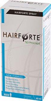 Hair Forte Erkek Spreyi 60 Ml