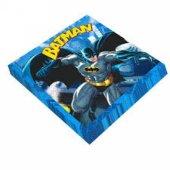 Batman Desenli Kağıt Peçete 33x33 Cm 16 Adetli