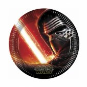 Star Wars Güç Uyanıyor Kağıt Tabak 23 Cm 8 Adetli