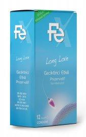 Fe Prezervatif Long Love Geciktirici Etkili 12 Pcs