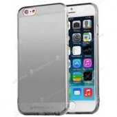 Totudesing Soft Frivolous İphone 6 S Plus Füme Silikon Kılıf