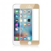 Iphone 6 6s Plus Ekran Koruyucu İnce Gold Cam