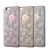 Totu Design Reform İphone 6 6s 3d Çiçekli Lüks Silikon Kılıf