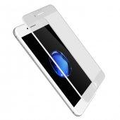 Iphone 8 Plus Mat Ekran Koruyucu Beyaz Cam