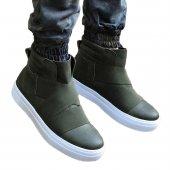 Chekich Erkek Günlük Spor Kışlık Bot Ayakkabı Haki Yeşil