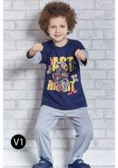 Roly Poly 1106 Erkek Çocuk Pijama Takımı 1 4 Yaş