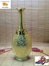 Ksv Altın Sarısı Vazo Dekoratif Aksesuar