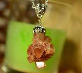 Kristal Sıvama Aragonit Kolye