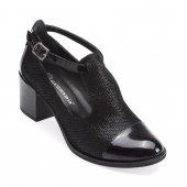 Mammamia 3415 C Rugan Bayan Ayakkabı Siyah