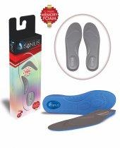 Sanus A100 Gri Memory Foam Hafızalı Ayakkabı İç Tabanı