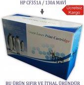 Hp Cf351a 130a (M176 177) Mavi Muadil Toner