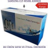 Samsung Clt M508l (Clp 620 Clx 6250) Kırmızı Muadil Toner