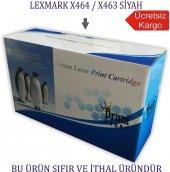 Lexmark X464 X463 Muadil Toner